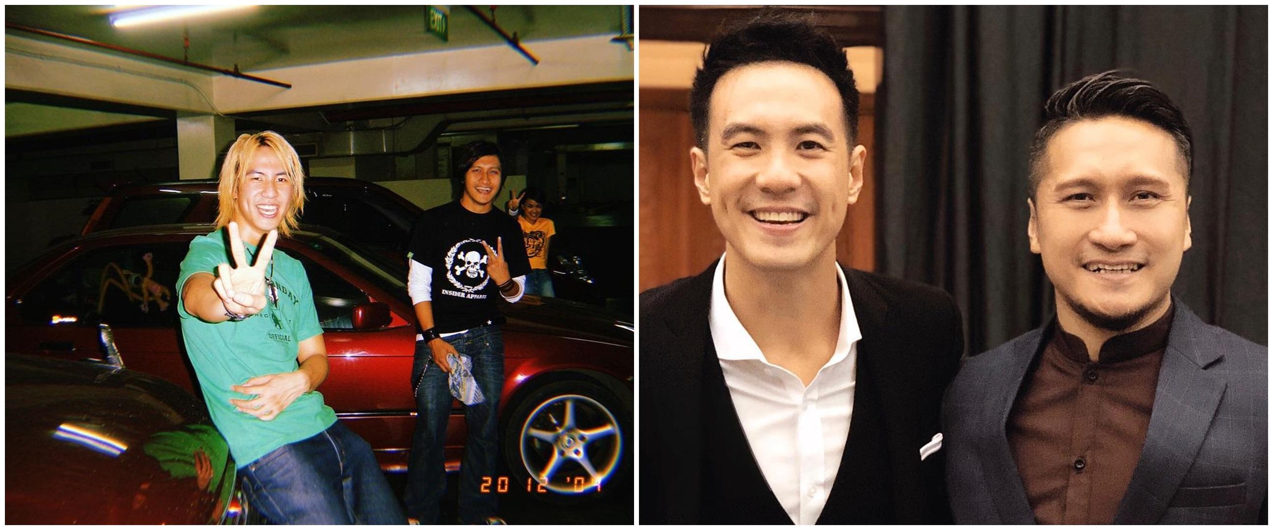 Belasan tahun bersahabat, ini 10 potret VJ Daniel dan Arie Untung