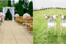 Viral pengantin tak duduk di pelaminan, alasannya bikin salut