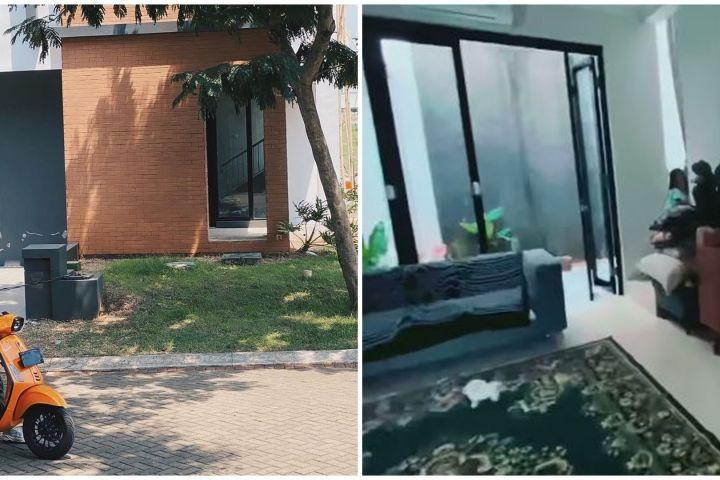 10 Penampakan rumah Ricky Harun, rooftop-nya penuh tanaman hias