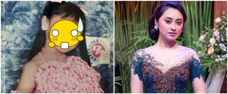 10 Transformasi Memes Prameswari, aura bintang terpancar sejak kecil