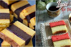 10 Resep kue lapis Surabaya yang lembut, enak, dan antigagal