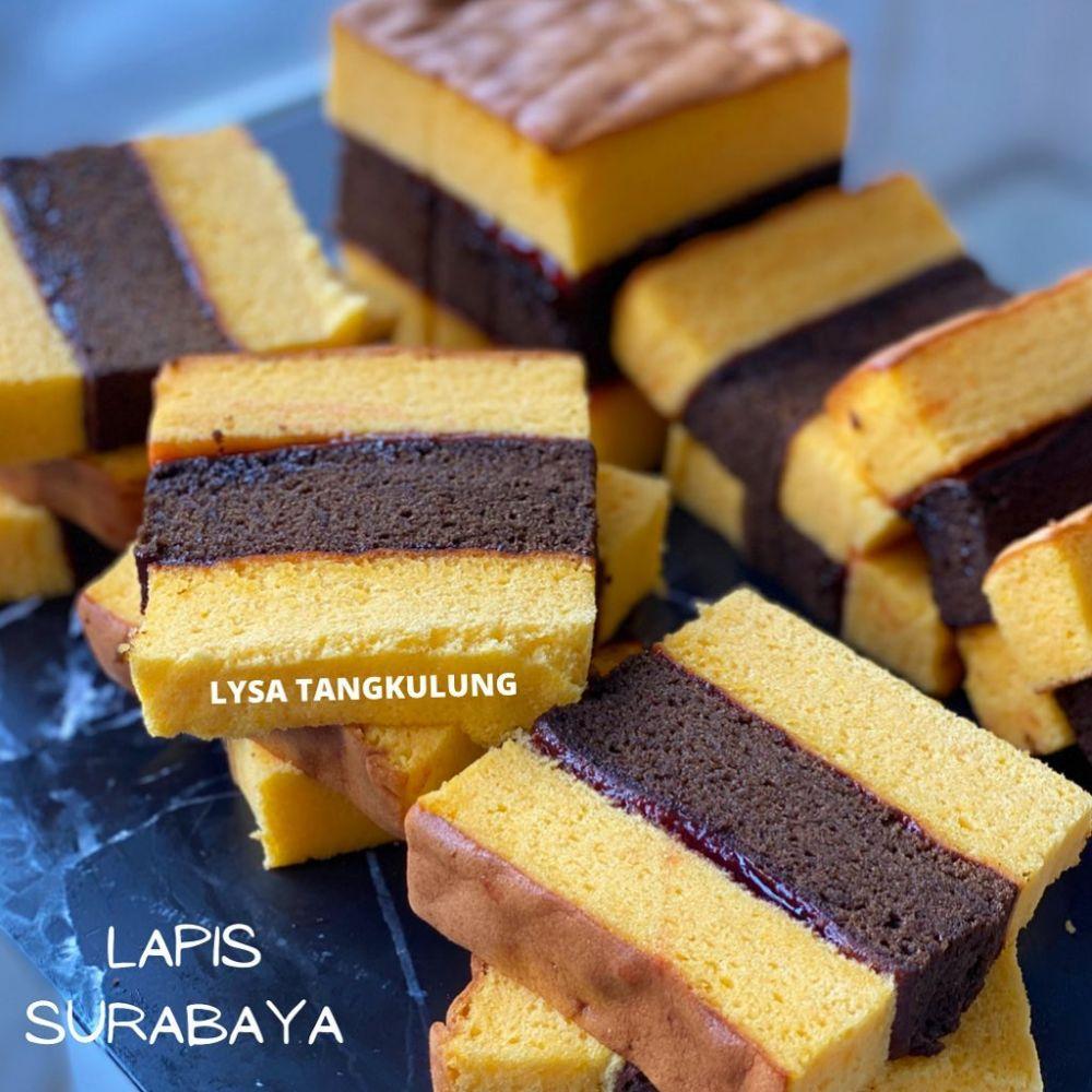Resep kue lapis Surabaya © 2021 brilio.net