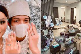 10 Momen Atta dan Aurel buka kado pernikahan, dapat hadiah dari Jokowi