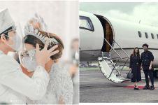 9 Potret Atta & Aurel berangkat honeymoon, gunakan jet pribadi