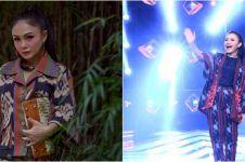 Potret 10 diva Indonesia pakai kain etnik, tampil menawan
