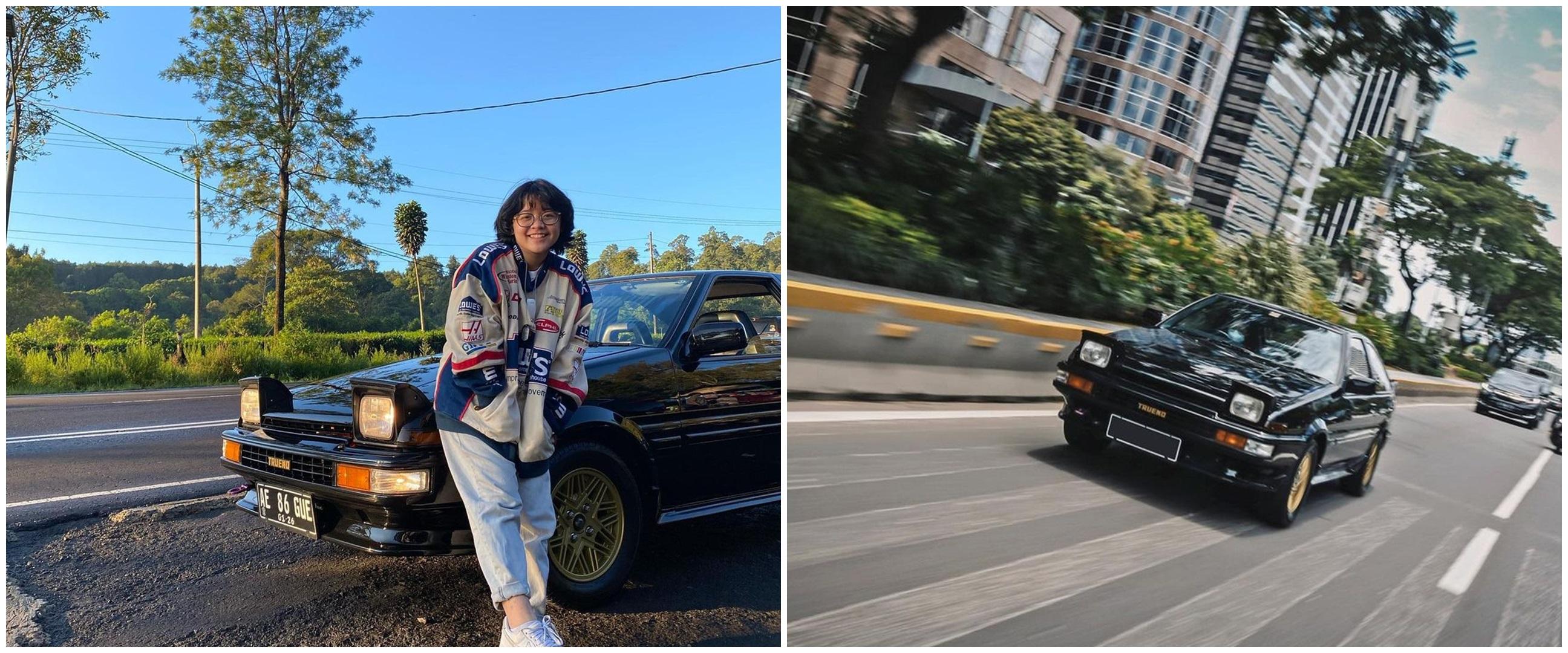 10 Gaya Cinta Kuya dengan mobil klasik, diidamkan sejak kecil