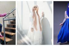 10 Gaya hijab Zaskia Adya Mecca saat photoshoot, menakjubkan