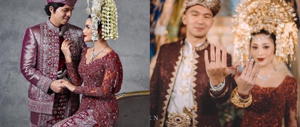 12 Seleb menikah pakai adat Minang, terbaru Aurel Hermansyah