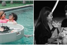 10 Momen bulan madu Atta dan Aurel di Bali, romantis bikin baper
