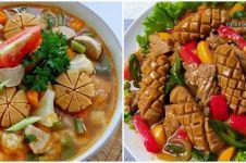 12 Resep lauk olahan sosis, cepat dibuat dan bikin kenyang