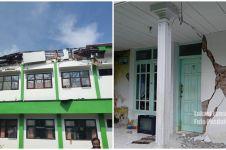 11 Potret terkini pasca gempa Malang magnitudo 6,7