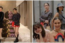 6 Momen Nagita Slavina hadiri acara brand Louis Vuitton, kece maksimal
