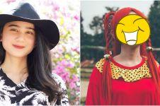 Biasa tampil natural, ini 8 potret Tissa Biani ber-makeup tebal