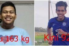Berhasil turunkan berat badan hingga 71 kg, pria ini bagikan tipsnya