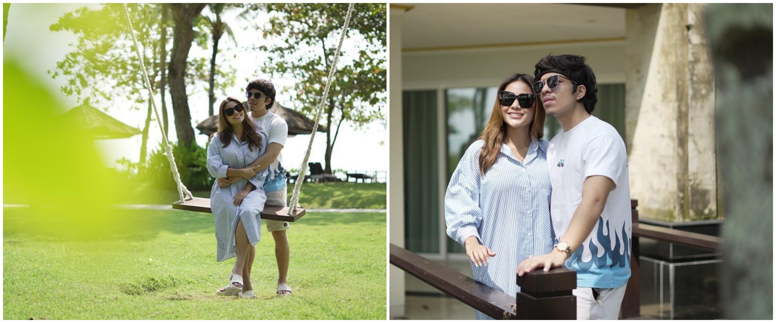 5 Momen dinner Aurel dan Atta Halilintar, romantis di pinggir pantai