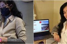 10 Potret Gisela Cindy kerja jadi store manager toko sepatu di Kanada