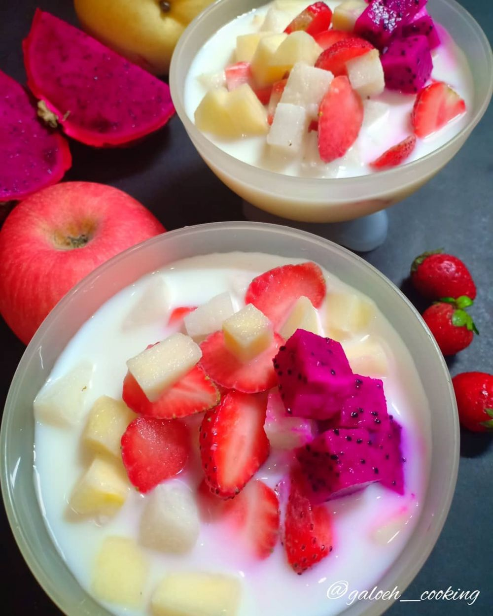 Resep camilan buka puasa berbahan buah © Instagram