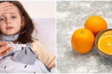 10 Makanan ini bantu turunkan demam pada anak