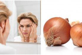 7 Manfaat bawang bombay untuk kecantikan, mencegah penuaan dini