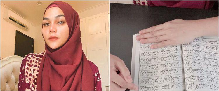8 Potret Katty Butterfly sambut puasa, Ramadhan perdana usai mualaf