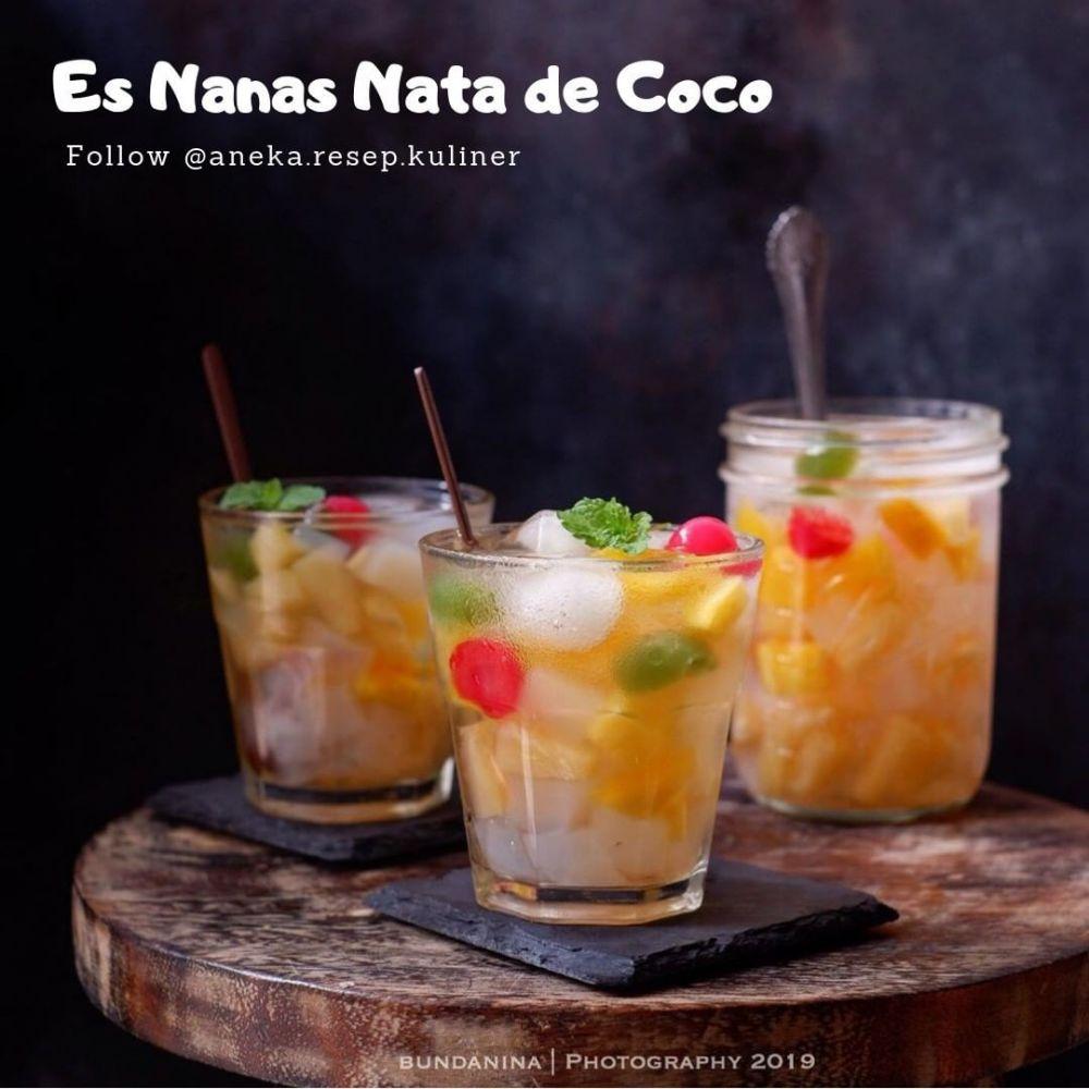 minuman berbuka berbahan nata de coco © 2021 brilio.net