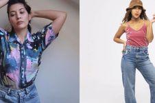 Hobi thrifting, 10 seleb ini berkelas kenakan baju bekas