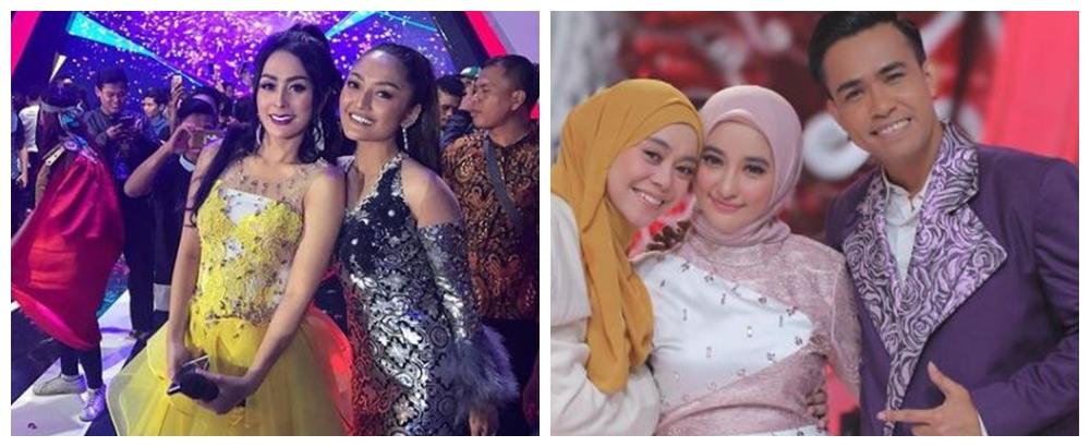Beda gaya Lesty Kejora dan Siti Badriah di panggung ©berbagai sumber