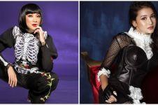 Pemotretan 10 seleb pakai outfit hitam, Natasha Wilona tampil beda