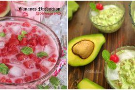 15 Resep minuman segar untuk berbuka puasa, berbahan susu