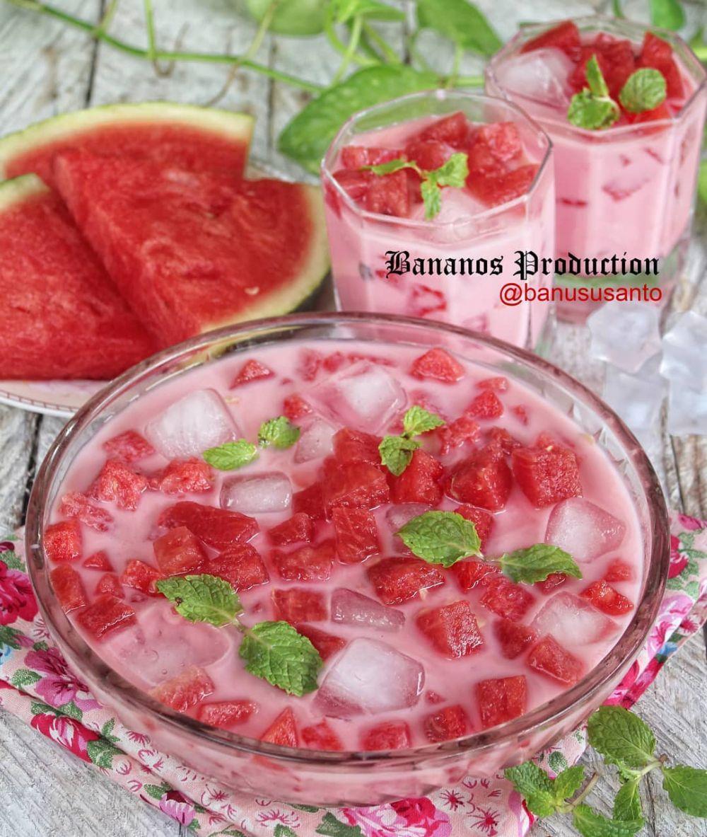 Resep minuman segar untuk berbuka puasa © Instagram