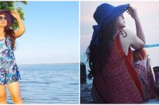 8 Potret Mayangsari liburan di Pulau Bira Kecil, naik yacht mewah