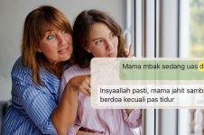 10 Chat ibu beri support ke anak ini bikin senyum lebar