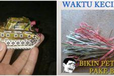 11 Potret lucu petasan ala warga Indonesia ini nyeleneh abis
