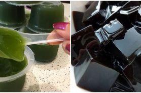 Serupa tapi tak sama, ini beda cincau hitam dan hijau