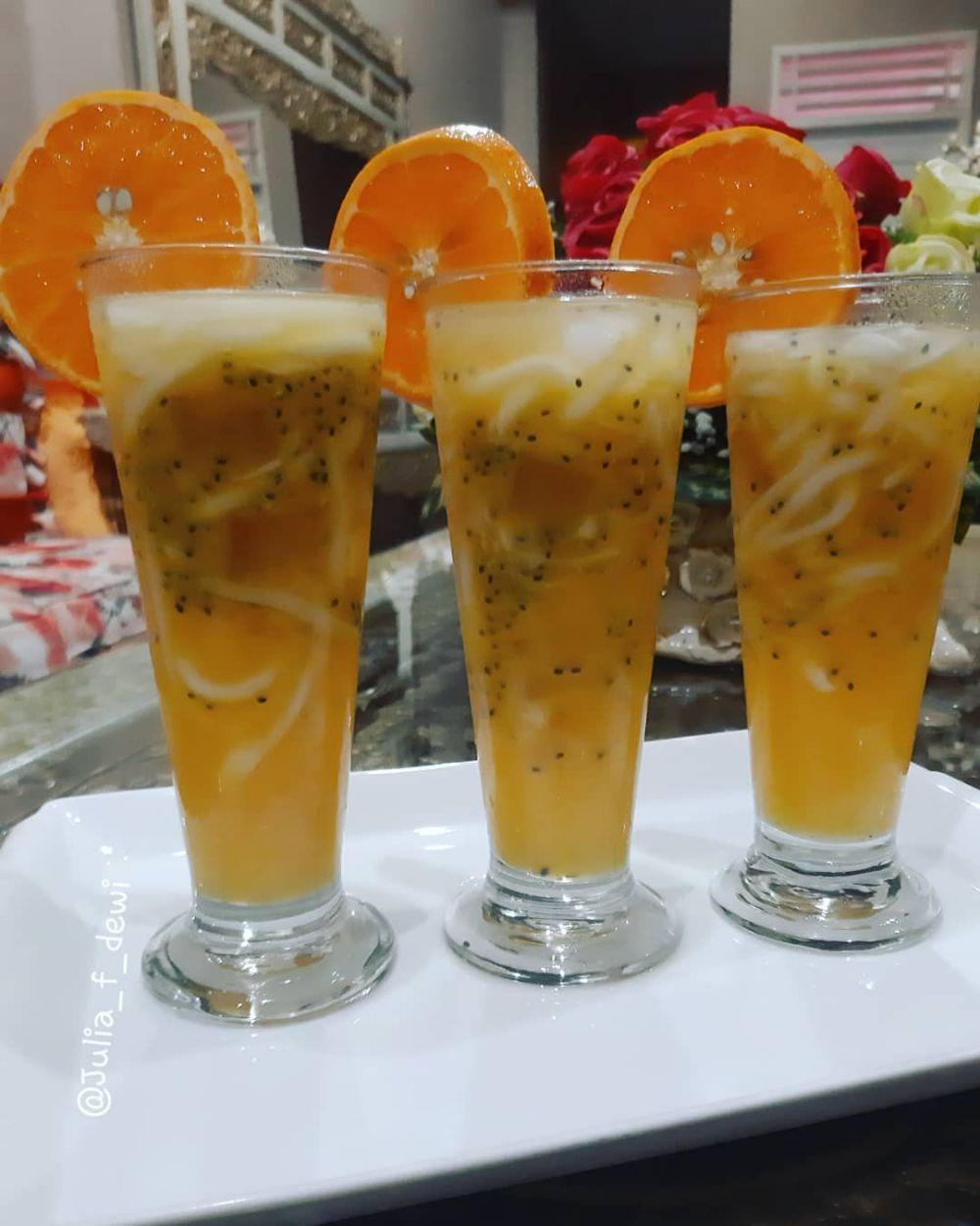 Resep minuman es segar tanpa santan © Instagram