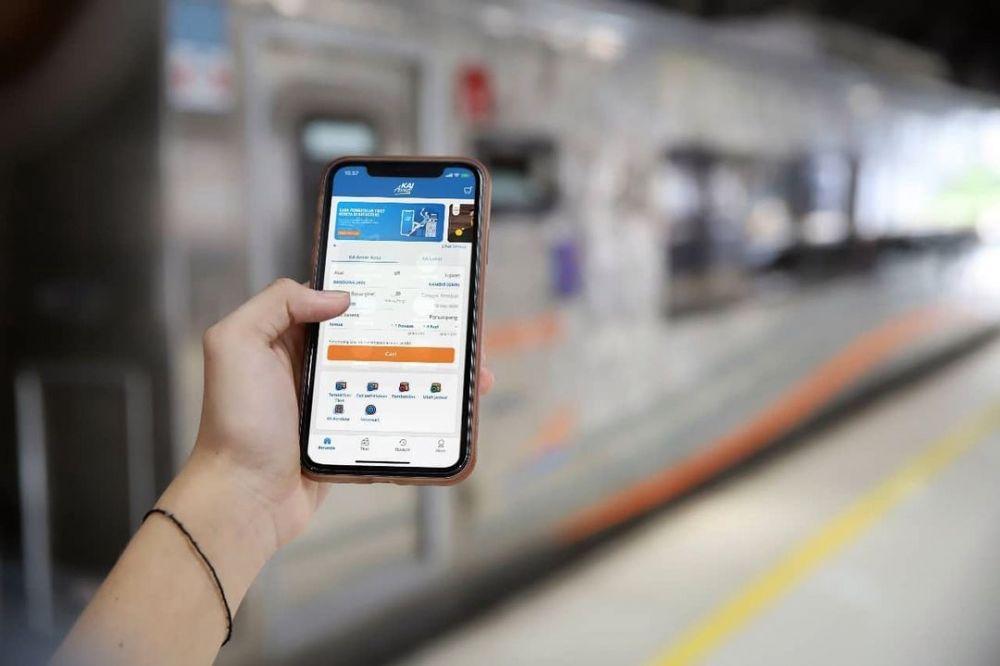 Tiket kereta api © 2021 brilio.net