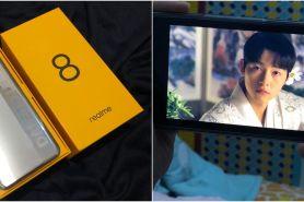 Realme 8, smartphone paling stylish berdesain premium futuristik