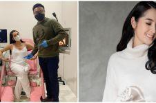 Hamil 38 minggu, ini 8 gaya maternity shoot Niken Anjani