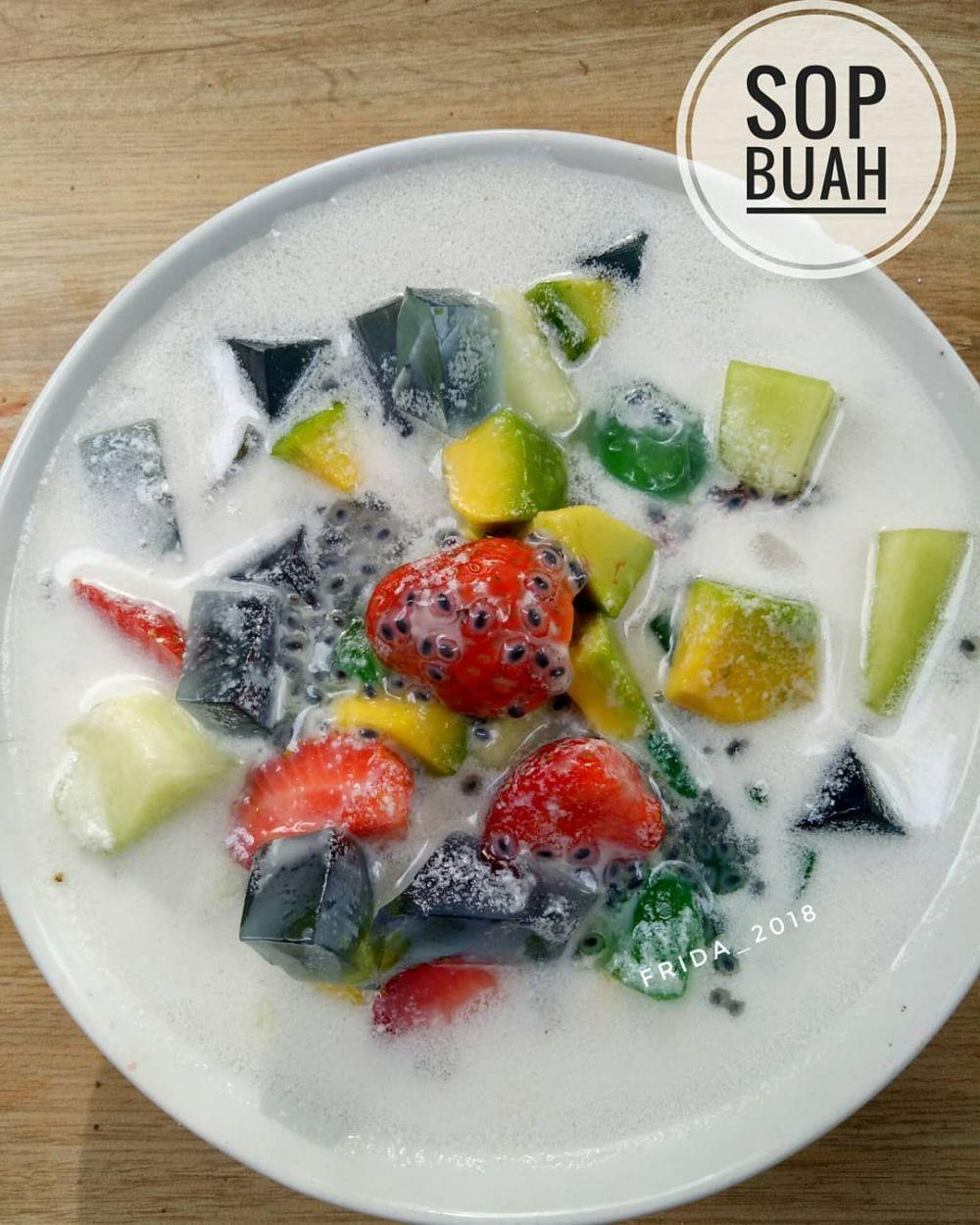 Resep sop buah © berbagai sumber