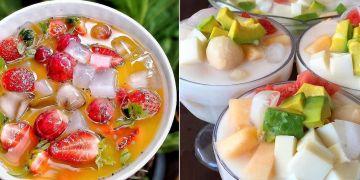 15 Resep minuman es buah untuk berbuka, segar, sehat, dan mudah dibuat