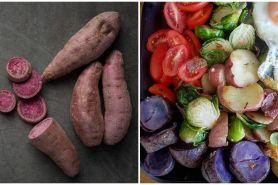 10 Manfaat ubi ungu untuk kesehatan, menurunkan berat badan