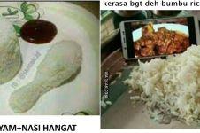 10 Meme lucu menu buka puasa dari olahan ayam ini bikin gagal lapar