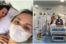 Cerita Joanna Alexandra terinfeksi Covid-19 bersama sang suami