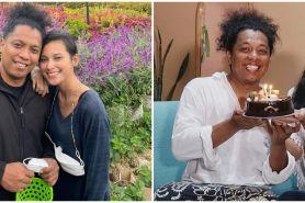 6 Momen perayaan ultah Arie Kriting ke-36, sederhana penuh kebahagiaan