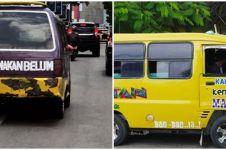 10 Tulisan lucu di angkutan umum ini bikin penumpang auto baper