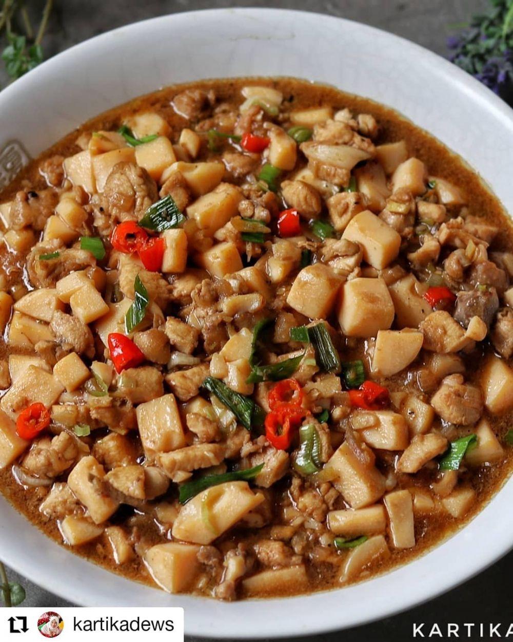 Resep masakan sahur berbahan tahu © berbagai sumber