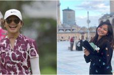 9 Potret Amel Carla ketika bermain golf, sporty dan cantik maksimal