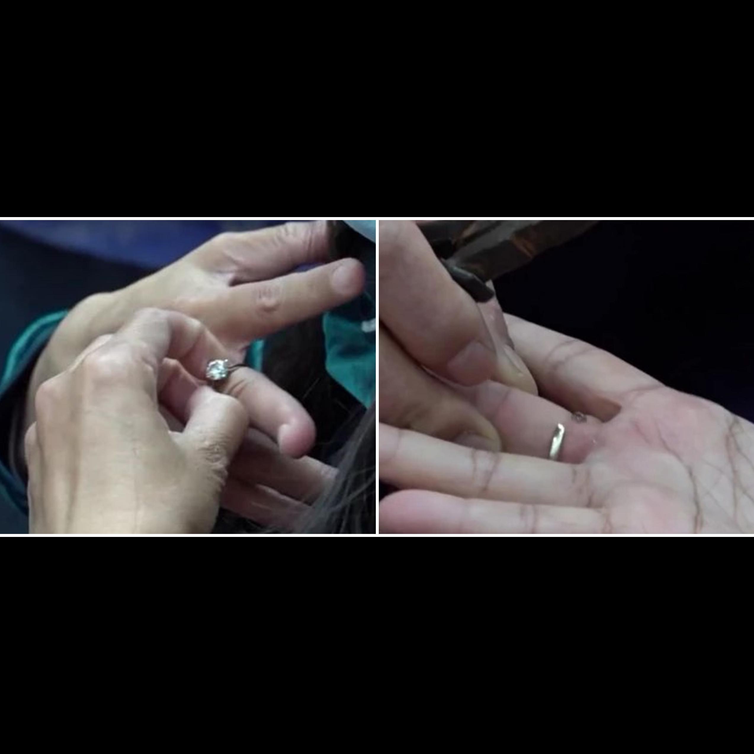 Wanita China potong cincin seharga Rp 600 juta, alasannya jadi sorotan