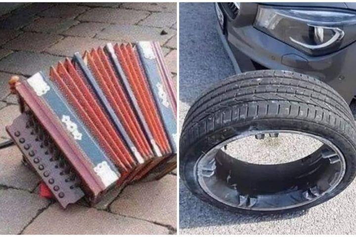 10 Potret absurd nggak tahu cara perbaiki kendaraan ini kocak abis