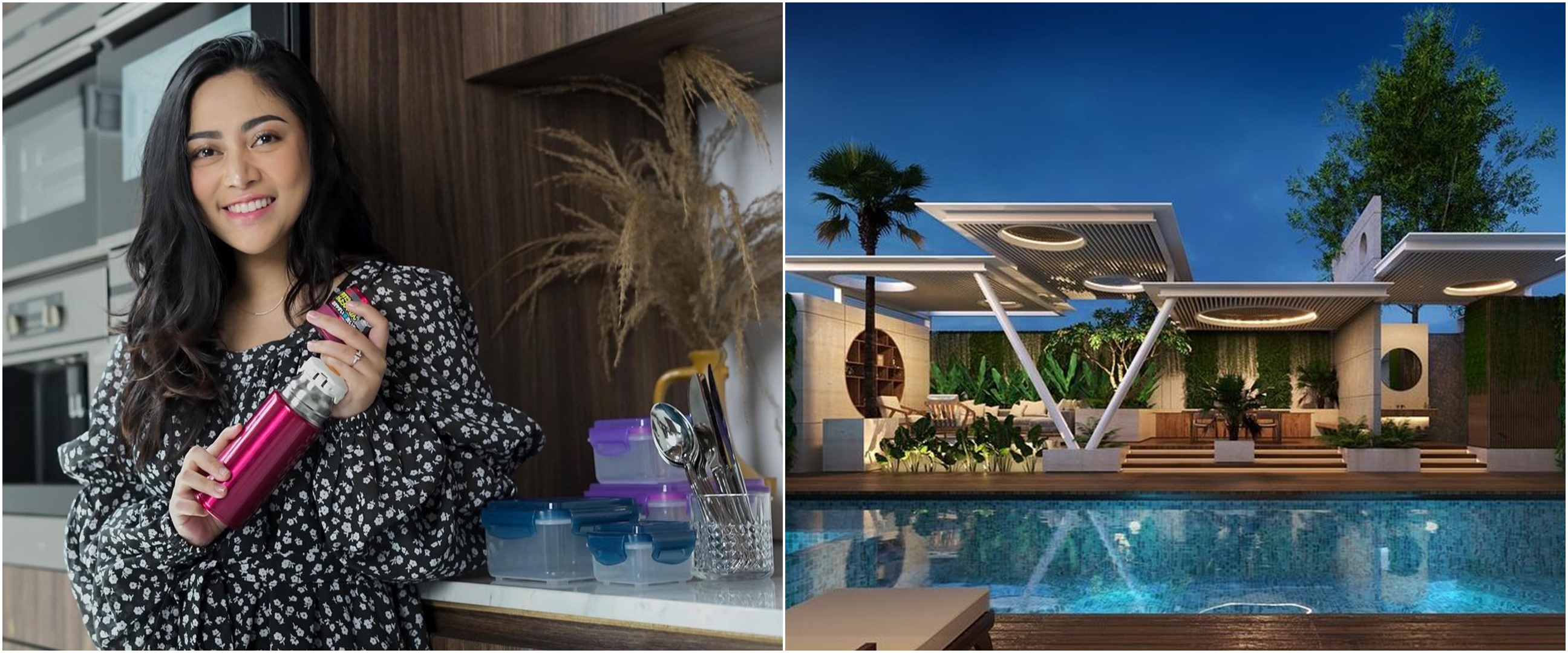 6 Potret desain rumah Rachel Vennya, ada bar dan air mancur